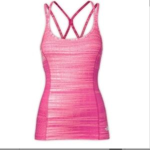 The North Face Pink Empower Built In Bra Tank Top